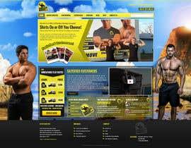 #23 para Design a Website Mockup for shirtlessmovers.com por massoftware