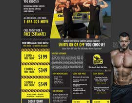 #4 para Design a Website Mockup for shirtlessmovers.com por Chrissikosk