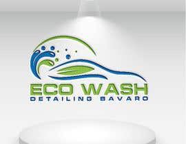 #117 for Eco Wash, Detailing Bavaro. LOGO by tahminaakther512