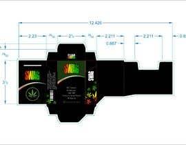 Nro 83 kilpailuun Hemp Cigarettes Packaging käyttäjältä mindlogicsmdu