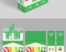Nro 87 kilpailuun Hemp Cigarettes Packaging käyttäjältä andreasaddyp