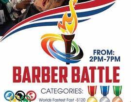 Nro 25 kilpailuun event flyer barber battle käyttäjältä maidang34