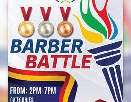 Nro 47 kilpailuun event flyer barber battle käyttäjältä irfananis07
