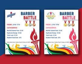 #52 for event flyer barber battle af MaxRegan