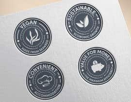 #52 untuk Logo stamp design oleh sk01741740555