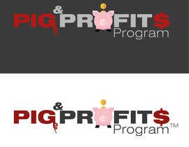 "#31 untuk Design a logo for our ""PIG & PROFITS PROGRAM"" oleh soashkani"