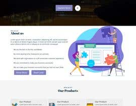 #85 untuk Logo + single page webpage oleh ArifShowrov