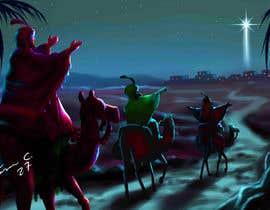 #18 untuk Illustration of three wise men on camels oleh jasongcorre