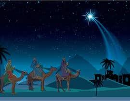 nº 17 pour Illustration of three wise men on camels par SondipBala