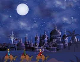 #4 untuk Illustration of three wise men on camels oleh MuhammdUsman