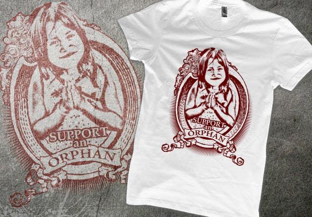 Inscrição nº                                         33                                      do Concurso para                                         T-shirt Design for Charity
