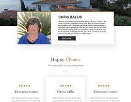 carmelomarquises tarafından Refresh Design UI for a Real Estate Agent Personal Website için no 37