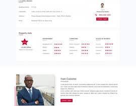 designbossfree tarafından Refresh Design UI for a Real Estate Agent Personal Website için no 40