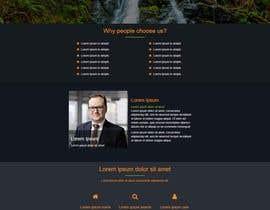 shambhurambarman tarafından Refresh Design UI for a Real Estate Agent Personal Website için no 48