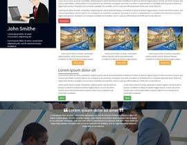 shambhurambarman tarafından Refresh Design UI for a Real Estate Agent Personal Website için no 56