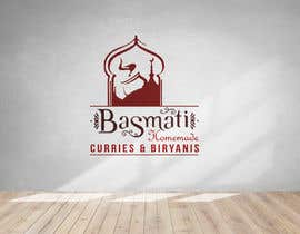 """#23 cho I need a logo designed for my new indian restaurant name """"Basmati"""" and in small below the name """"homemade curries & biryanis"""" bởi Shuvro1993"""