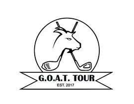 Nro 3 kilpailuun GOAT TOUR logo käyttäjältä sachinray823