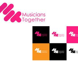 #10 cho Logo Design for Musicians Together website bởi YassirBayoumi