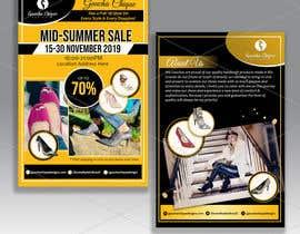 #34 pentru Create a post card for shoe sale event de către d3stin