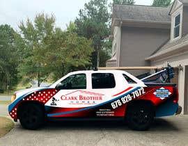 #39 untuk Vehicle Truck Wrap Design Needed oleh sumonfaruq
