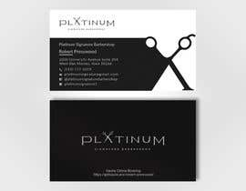 Nro 146 kilpailuun Business Card Design for Barbershop käyttäjältä shakhawat225