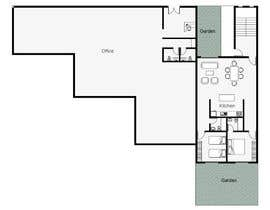 #11 pentru Floor plan for small mixed-use building de către juliodamian