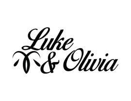 "#44 untuk I need a logo done in script with the names ""Luke and Olivia."" Doesn't have to be linear, can be circular, whatever. Looking for your creativity. oleh alamin27016"