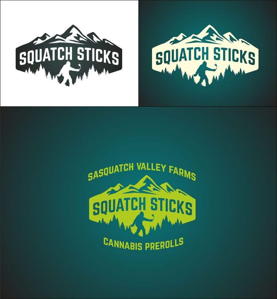 Penyertaan Peraduan #45 untuk Squatch Sticks!