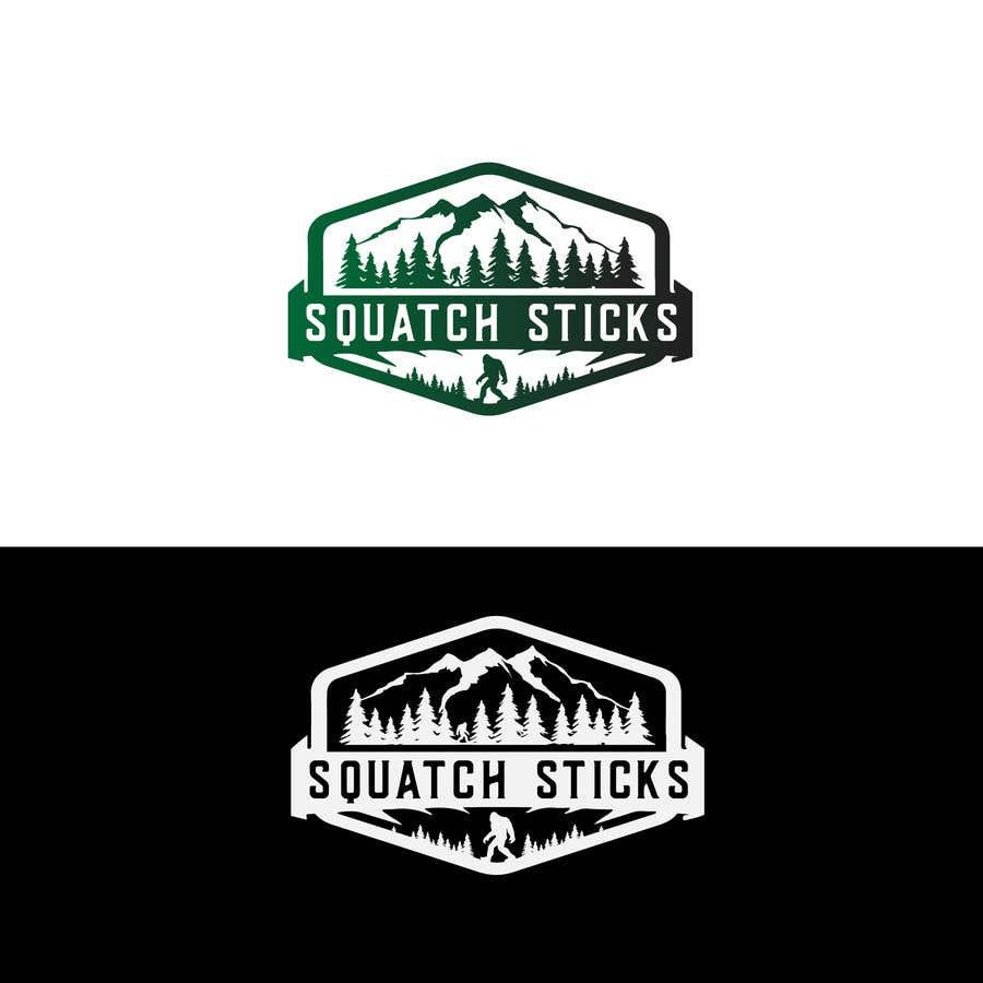 Penyertaan Peraduan #75 untuk Squatch Sticks!