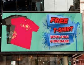 #23 для Free T-Shirt banner от miloroy13