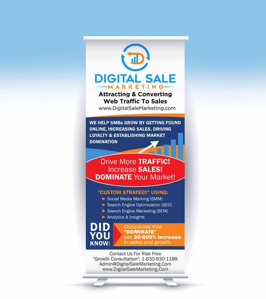 Proposition n°89 du concours Pull Up Banner Design For Digital Marketing Agency