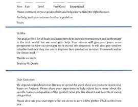 nº 24 pour Research about customer engagement emails par falax2016b
