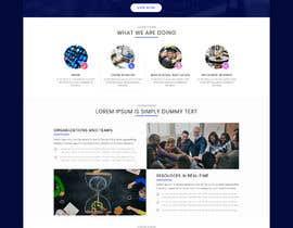 "pixelmarketo tarafından Design me a front page of a Corporate Website ""Balance"". Winner get a 400$ whole project! için no 13"