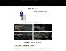 "shafayet035 tarafından Design me a front page of a Corporate Website ""Balance"". Winner get a 400$ whole project! için no 12"