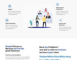 """#18 cho Design me a front page of a Corporate Website """"Balance"""". Winner get a 400$ whole project! bởi PRITAM047"""