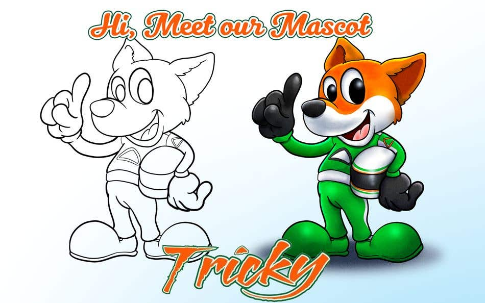 Konkurrenceindlæg #37 for CONTEST! Disney-fy Our Company Mascot Tricky!
