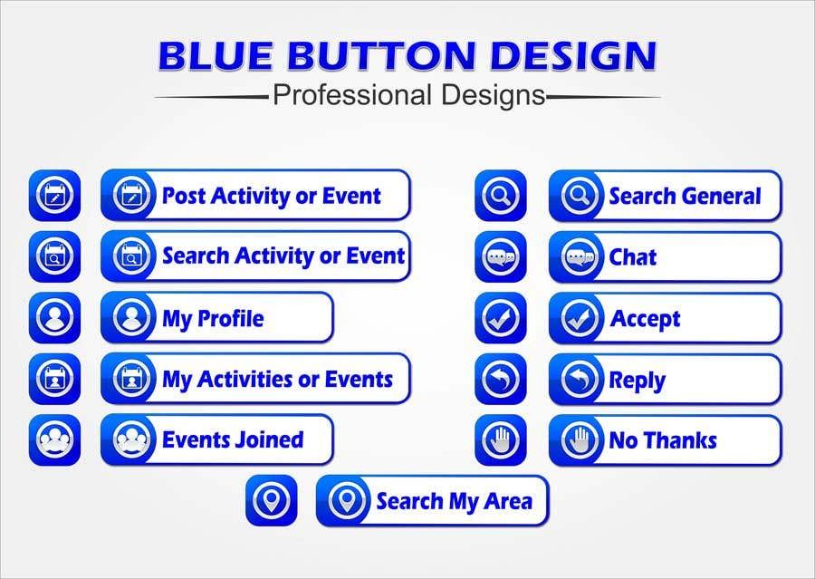 Penyertaan Peraduan #10 untuk Button Images for Mobile Application