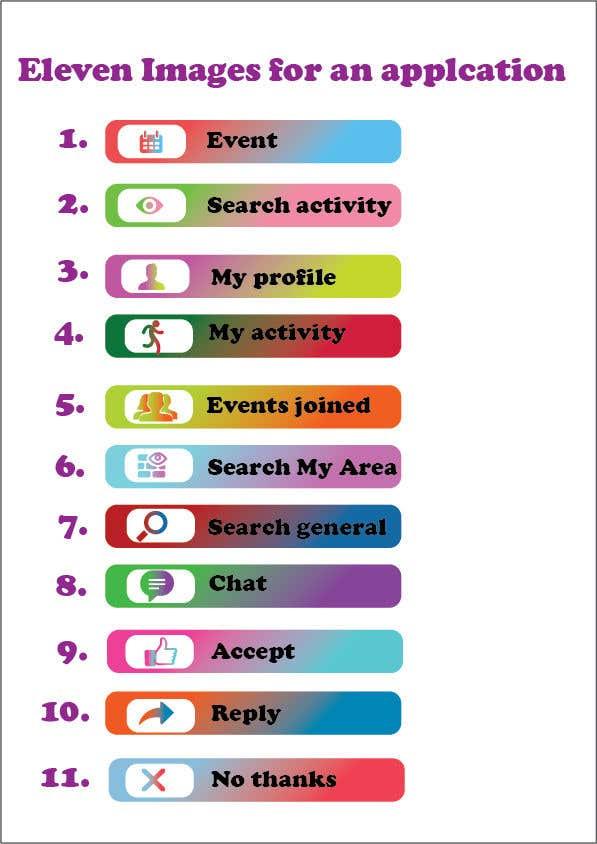 Penyertaan Peraduan #8 untuk Button Images for Mobile Application