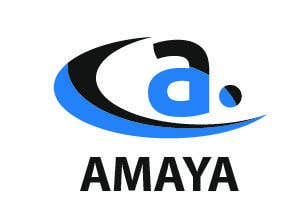 Penyertaan Peraduan #1 untuk Revise logo of Amaya (attached) to make it symmetrical. If you can provide a better version please do so as well.