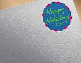 "#53 для ""Happy Holidays 2020""- graphic with machines от DesignInverter"