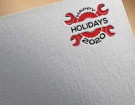 "#57 для ""Happy Holidays 2020""- graphic with machines от DesignInverter"