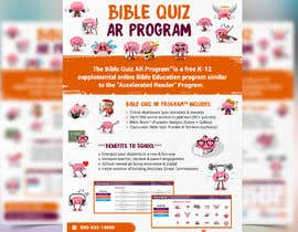 "#35 for Enhance our flyer (for our ""Bible Quiz AR Program"") by moslehu13"