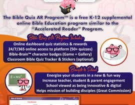 "#24 for Enhance our flyer (for our ""Bible Quiz AR Program"") by kayode85"