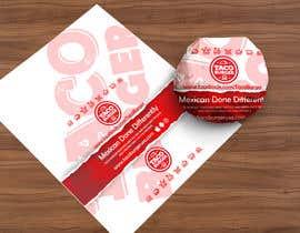 Nro 49 kilpailuun Taco Burger Wrapper Design käyttäjältä pgaak2