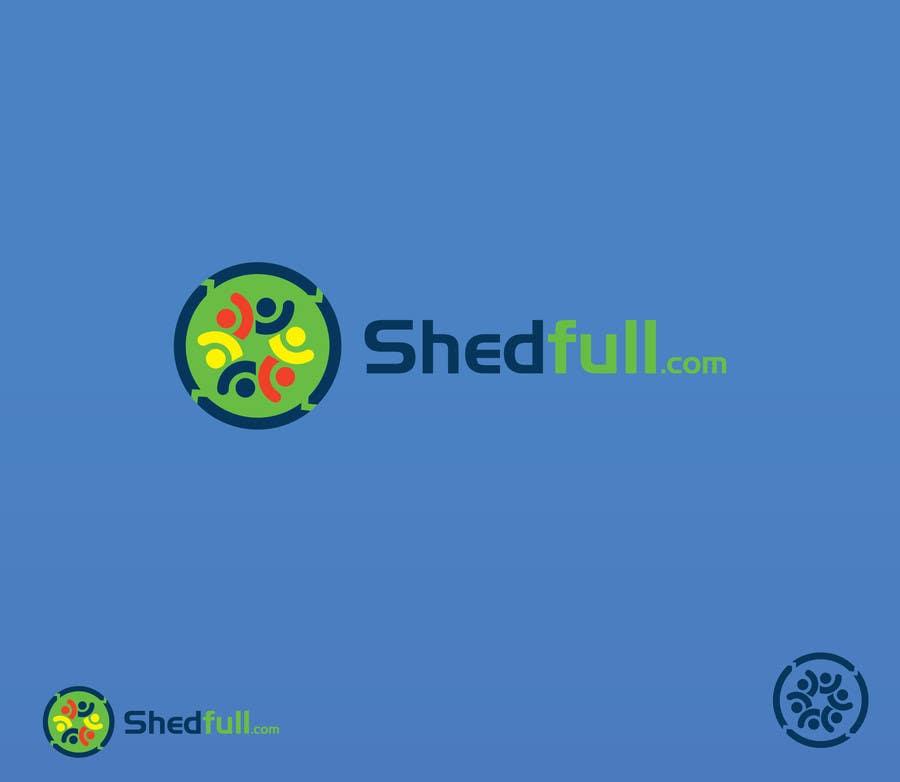 Penyertaan Peraduan #26 untuk Logo Design for Shedfull.com