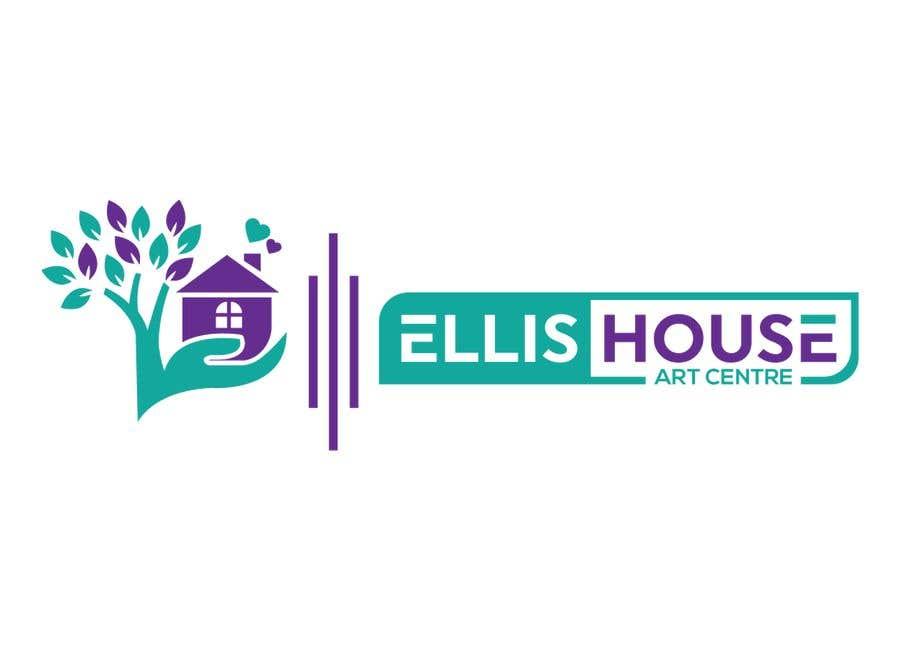 """Intrarea #                                        74                                      pentru concursul """"                                        Logo Design - Ellis House Art Centre                                     """""""