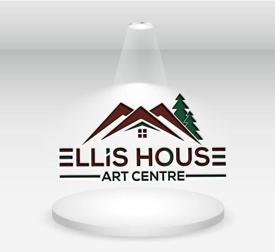 """Intrarea #61 pentru concursul """"Logo Design - Ellis House Art Centre"""""""