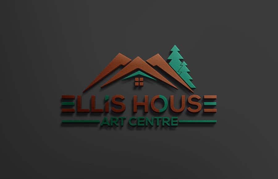 """Intrarea #                                        62                                      pentru concursul """"                                        Logo Design - Ellis House Art Centre                                     """""""
