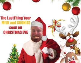 #9 cho I'd like a Santa hat photo shopped on both pictures of the guy and then combined together with the text shown on the first picture. This will be a Christmas card so feel free to add other Christmas-like images like lights around the photo...etc. bởi mohamedsobhy1530