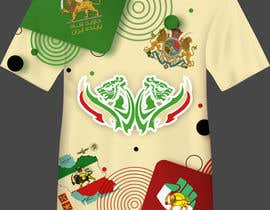 #28 untuk Traditional Iranian Images on Sublimated Tee oleh vivekdaneapen